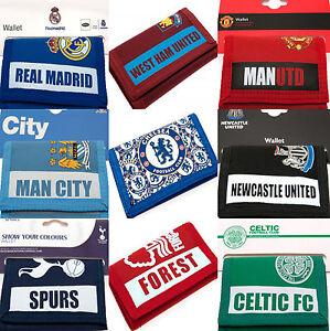 FOOTBALL-CLUB-SPORTS-TEAM-MONEY-ID-CARD-NYLON-CASUAL-WALLET-BIRTHDAY-FC-UTD