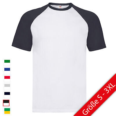 Fruit of the Loom Valueweight Short Sleeve Baseball T FOL