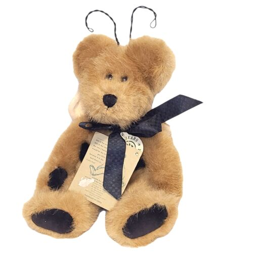 Boyds Bear Plush CLOVER BUZZOFF Jointed Teddy Bear Bee 10 Investment Collectib - $9.45