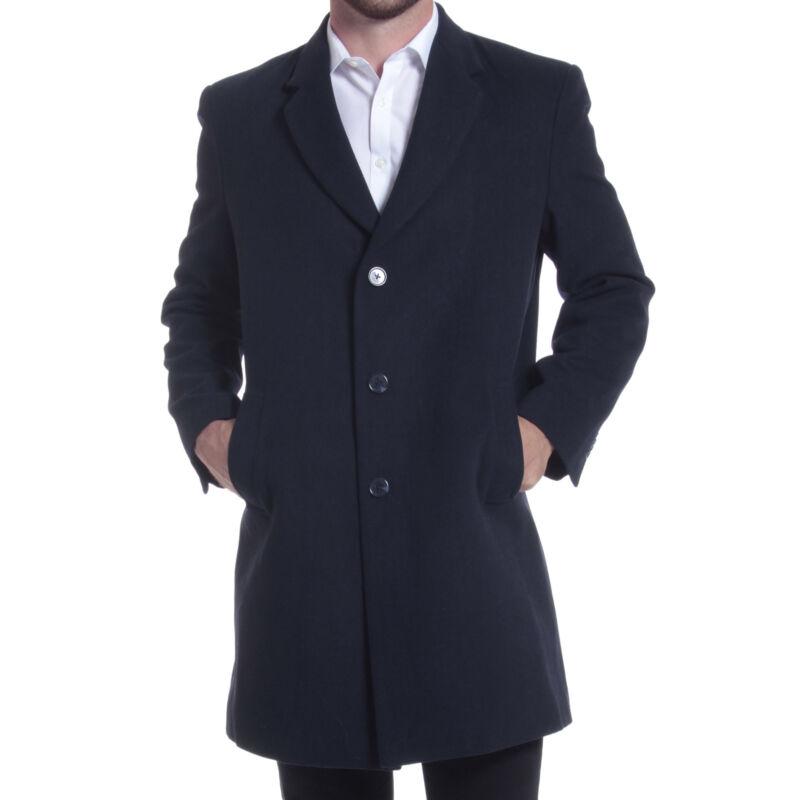9c1e42e9a1418 Alpine Swiss Luke Wool Mens Tailored 37 Walker Jacket Top Coat Car Coat  Overcoat