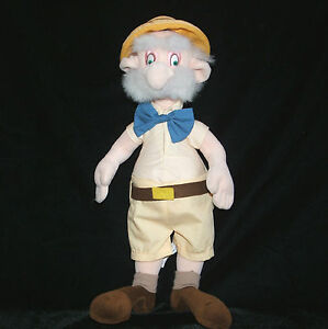 Tarzan 15 professor porter plush doll disney janes father for Professor archimedes q porter