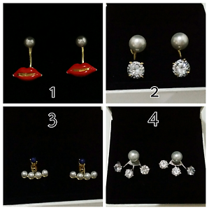 Versatile - multiple styles earrings - $10 Carlingford The Hills District Preview