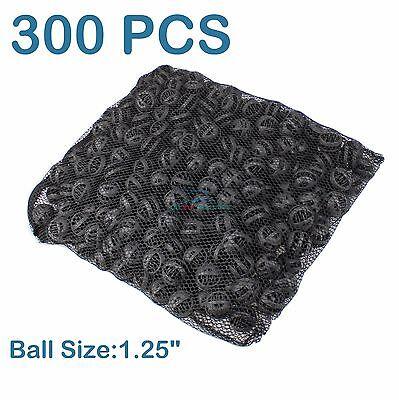 """300 pcs 1.25"""" Bio Balls Aquarium Fish Pond Filter Media FREE MEDIA BAG"""