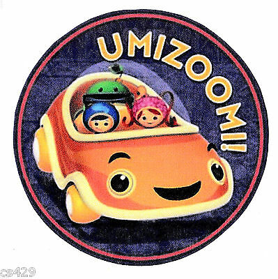 3 5  Team Umizoomi  Bot Milli Geo Group  Wall Safe Sticker Character Border