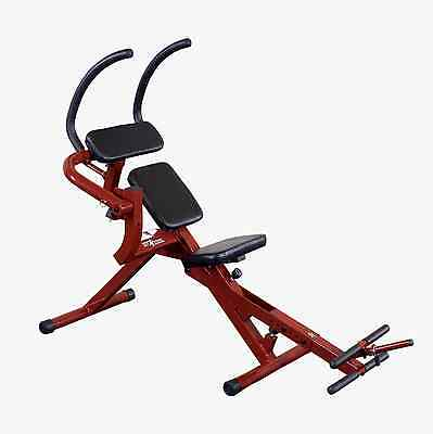 Best Fitness BFAB20 Semi-Recumbent Ab Bench Core Exercise Crunch Gym