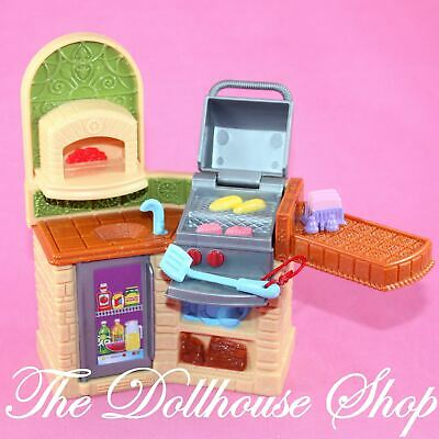 Fisher Price Loving Family Dollhouse Outdoor Doll Barbecue BBQ Grill