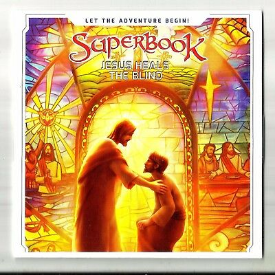 SUPERBOOK Jesus Heals The Blind (2017, DVD) BRAND NEW: CBN Bible: - Jesus Heals Blind