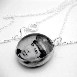 Custom keepsake photo glass bubble silver necklace BN charm personalized pendant