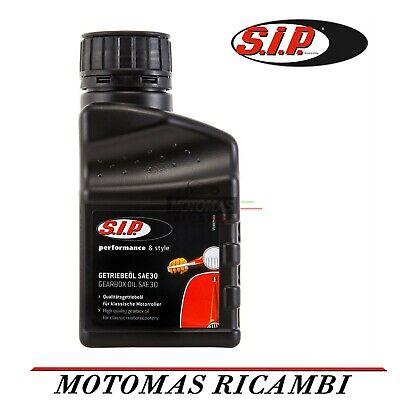 OLIO MOTORE CAMBIO SAE 30 SIP VESPA 50 125 150 160 180 200 PX SPECIAL PK GT TS
