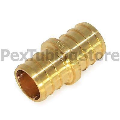 25 34 Pex Couplings - Brass Crimp Fittings