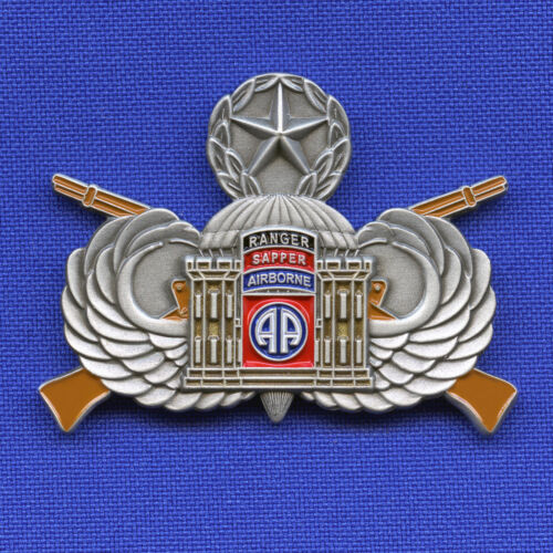US Army 82nd Airborne SAPPER Combat Engineer A Co EN 3rd BSTB OEF Challenge Coin