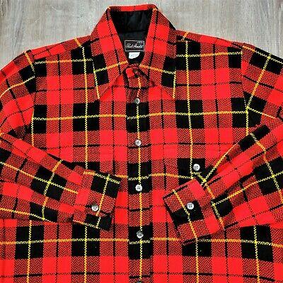 1970s Men's Shirt Styles – Vintage 70s Shirts for Guys Vintage 70s Paul Arnold Plaid Flannel Shirt 1970s Disco Grunge Lumberjack VGC M $52.93 AT vintagedancer.com