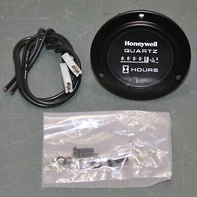 Honeywell Analog Quartz Hour Meter 85097 12 To 80 Vdc Machinery Flange Mount