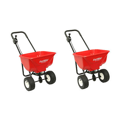 Used, Earthway 2030P Plus Deluxe Estate Broadcast Seed Fertilizer Spreader (2 Pack) for sale  Shipping to Canada