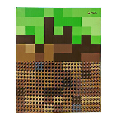 Microsoft Xbox One S 1TB Minecraft Limited Edition Video Game Console Only