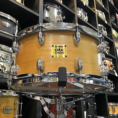 Yamaha 14x7in Oak Custom Snare Drum - Pre-owned