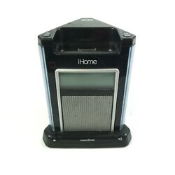 iHome iH4B Alarm Clock Speaker System Unit Only No Power Cord ✅ 1.I1