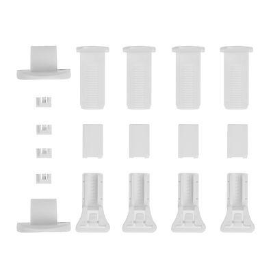 Lichtblick Klemmträger und Zubehör Montage-Set für Klemmfix Plissee PKV Ersatzte