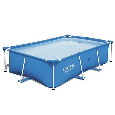Bestway Steel Pro 8.5' x 5.6' x 2' Rectangular Ground Swimming Pool (Pool Only)