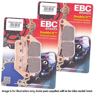 Victory Cross Country Tour 2015 EBC Sintered HH Front Brake Pad Set