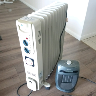 Fin heater and air heater