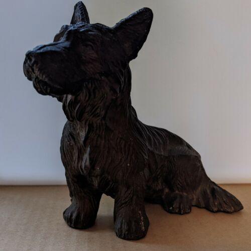 Vintage Scottie Scottish Terrier Cast Iron Figurine