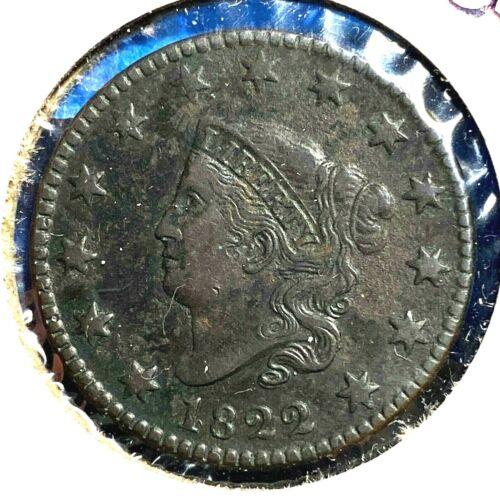 1822 1C Coronet Head Cent (56357)