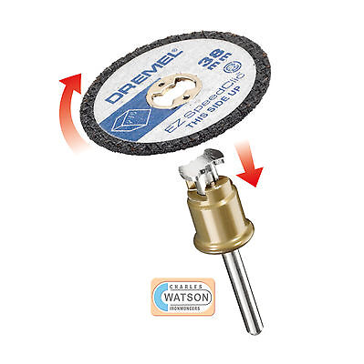 Dremel Multi Tool Accessories Sc476 Ez Speedclic Plastic Cutting Wheel Pack 5