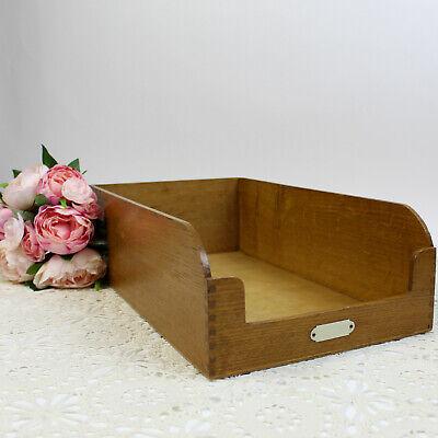 Vintage Wooden Haberdashery Drawer - Superb Storage Box or Shop Display.