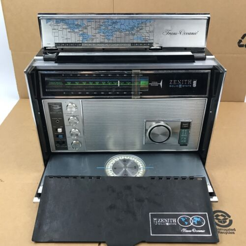 Zenith Royal R7000-1 Trans-Oceanic Transoceanic radio PARTS OR REPAIR ONLY 1.A6