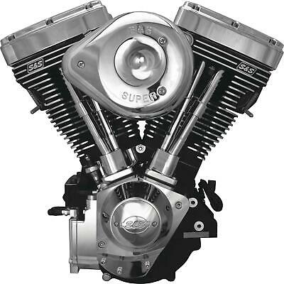 S AND S CYCLE ENGINE V124BLK/CHR G CARB 31-9885