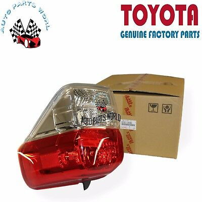 Tail Light Assembly RH//Pass Fits 10 13 Toyota 4Runner 11-6505-00-1 TYC
