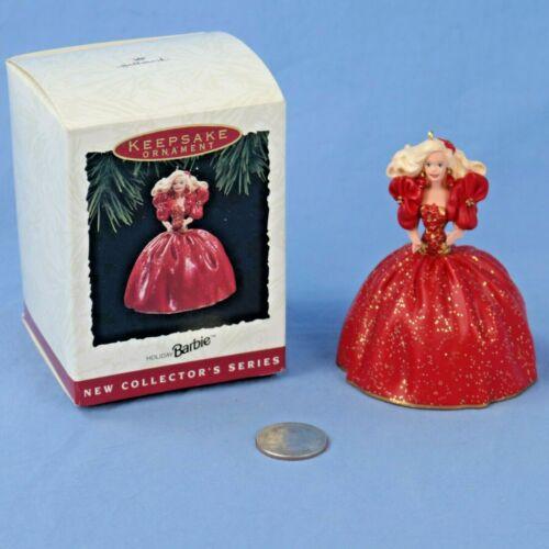 Hallmark Holiday Barbie #1 Keepsake Ornament in Original Box NOS