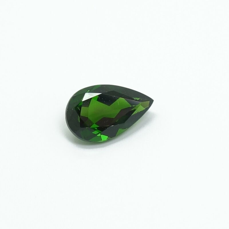 2.47ct Chrome Diopside Pear Cut Loose Natural Green Gemstone House of Onyx