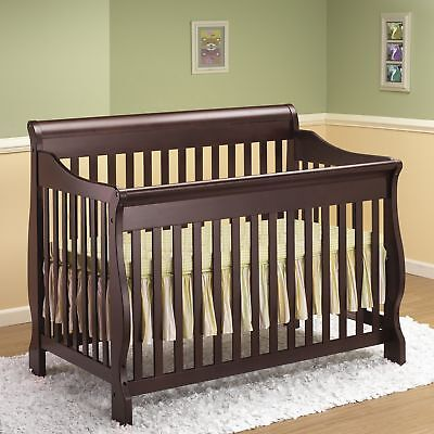 Orbelle Trading Sleigh 4-in-1 Convertible Crib