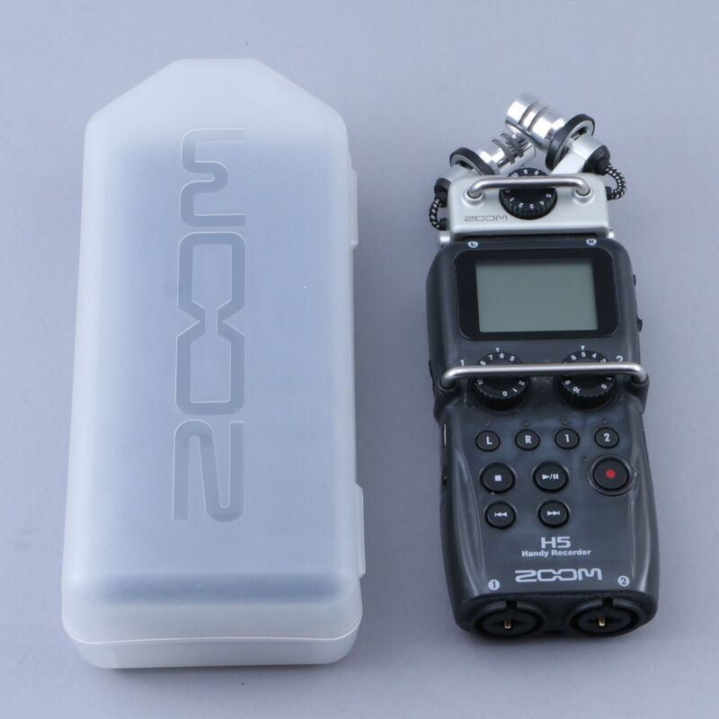 Zoom H5 Handy Recorder OS-9645