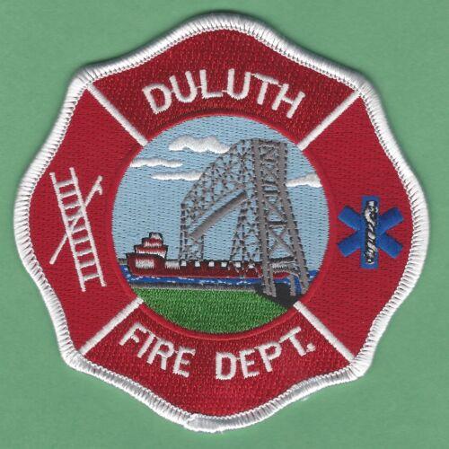 DULUTH MINNESOTA FIRE DEPARTMENT PATCH