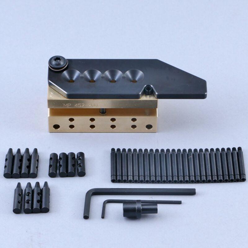 MP Mold 4 Cavity Brass Mold 45 ACP 200gr Hollow Point Flat RN Plain Base