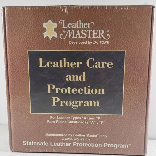 Leather Master Care and Protection Program Dr. Tork Types A and P NEW SEALED