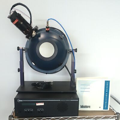 Labsphere Us-120-sf Lps-200-h Uniform Light Source System 12 200w Supply