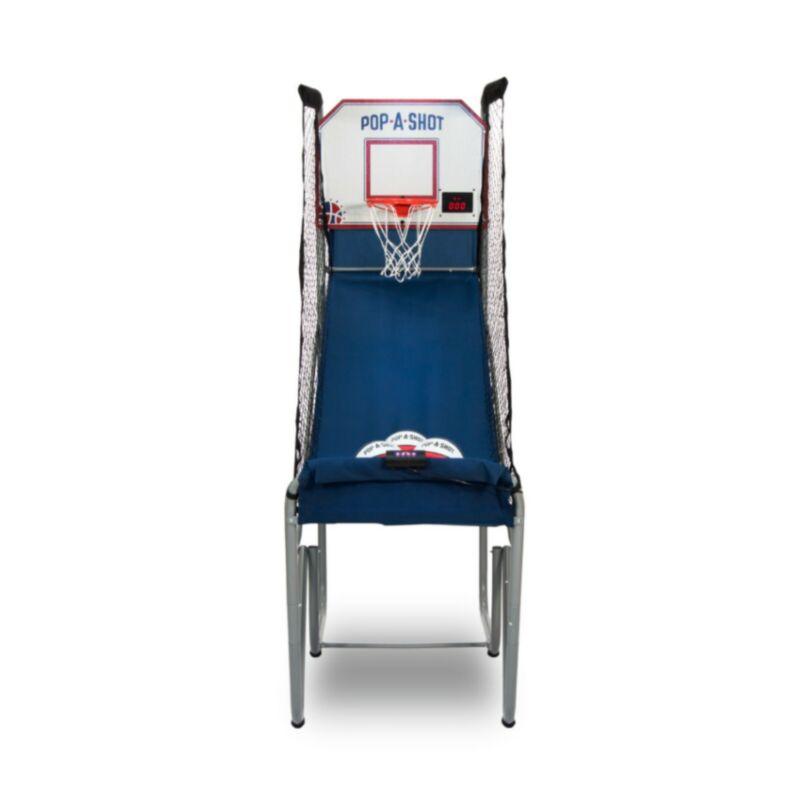 Pop-A-Shot Official Home Single Shot Basketball Arcade Game Labatt Blue Man Cave