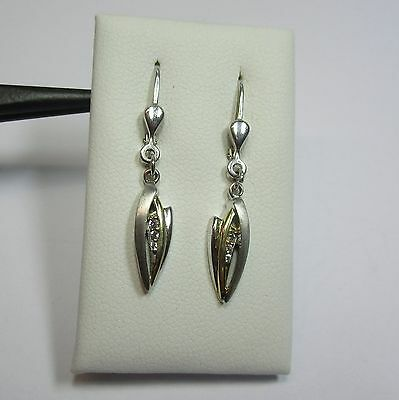 109 - Dezente Ohrringe mit Zirkonia aus 925 Silber  - 1769