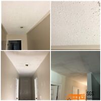 Taping,Painting,Drywall,Stucco removal