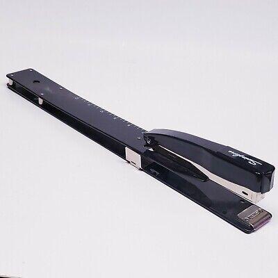 Swingline Deep Long Reach Stapler Built-in Ruler With Adjustable Locking Paper