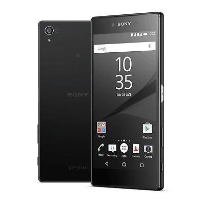 NEW SONY Xperia Z5   32GB 4G (GSM UNLOCKED) Smartphone E6653   Graphite Black