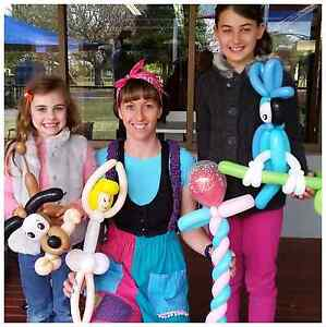 Balloon Twisting and Face Painting - Kids Parties Brisbane City Brisbane North West Preview