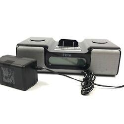 Apple iPhone Alarm Clock Radio Docking Station Model iH5B Tested 8.A4