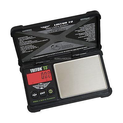 My Weigh Triton T3 400 Precision Pocket Scale 400g X 0.01g Carat Tough Design