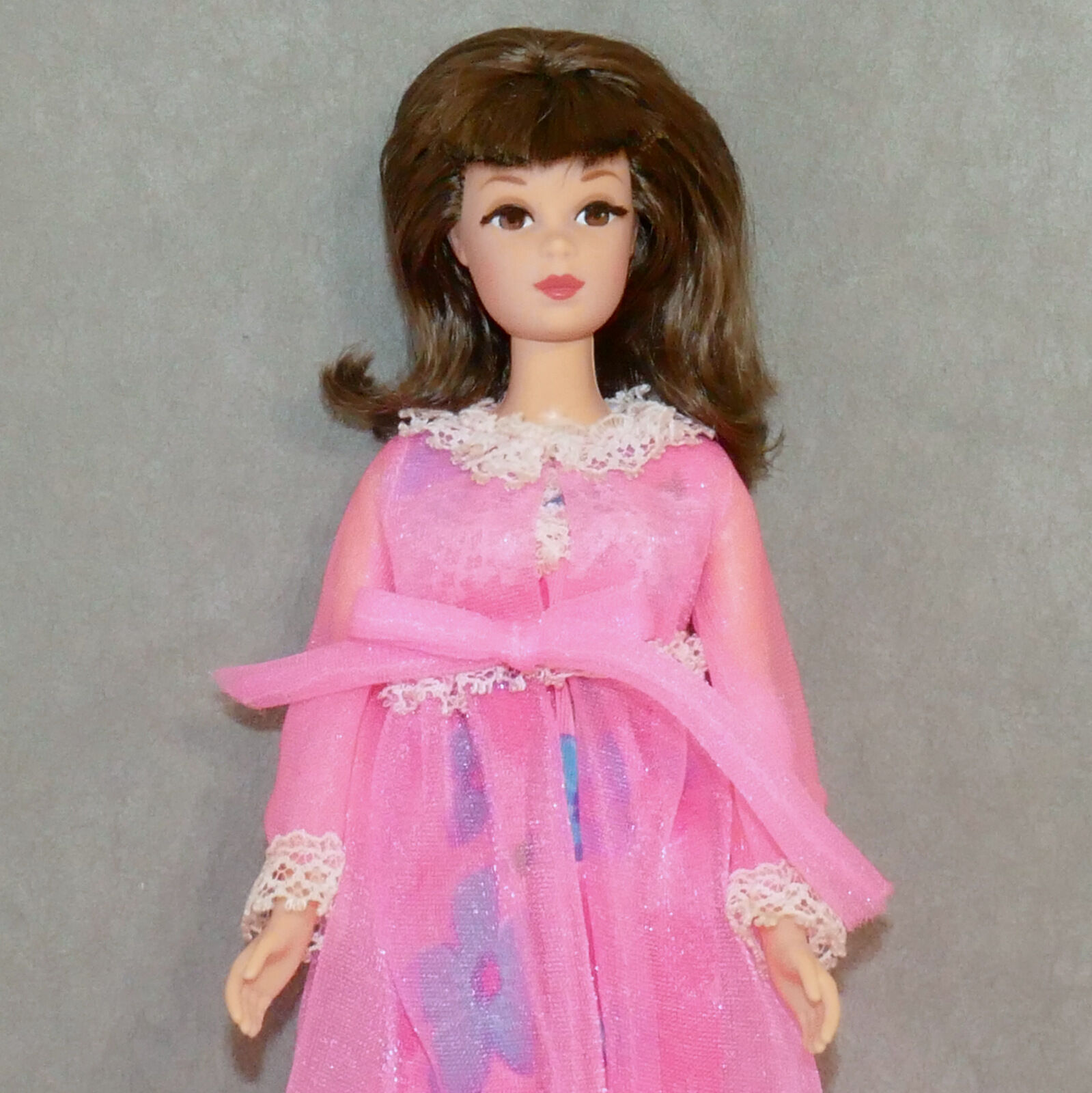 Barbie FRANCIE Doll REPRO AUTHENTIC Clothes 1968 - 1969 NIGHT BLOOMERS Pink M/C
