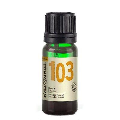 Naissance Aceite esencial de Limón BIO 100 % Puro - 10ml -...